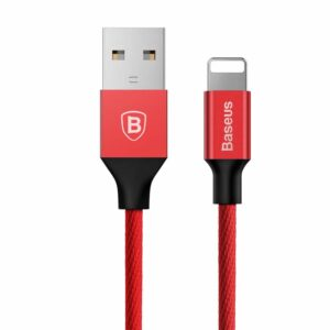 Baseus Lightning USB Kabel Rot 3m