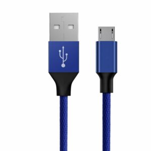 Baseus Micro USB Kabel Blau 1.5m