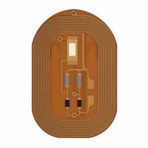 Blinkender LED Fingernagel