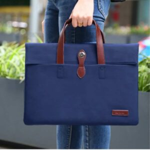 Cartinoe Macbook Handtasche 13 Zoll Blau