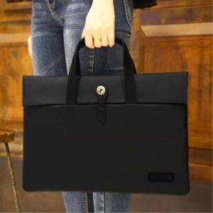 Cartinoe Macbook Handtasche 13 Zoll Schwarz
