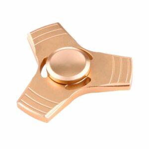 Fidget Spinner Aluminium Gold