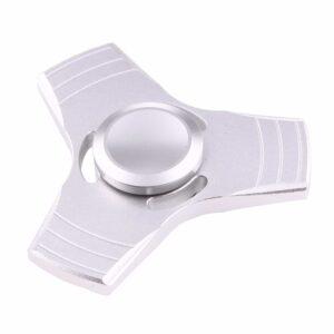 Fidget Spinner Aluminium Silber
