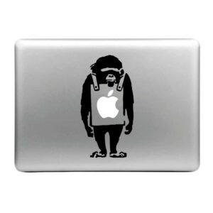 MacBook Sticker Tattoo Affe