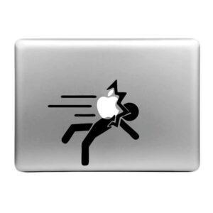 MacBook Sticker Tattoo Apfelwurf
