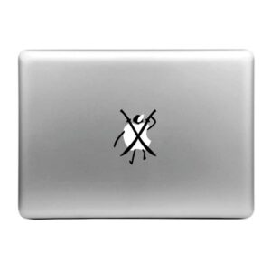MacBook Sticker Tattoo Ninja