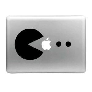 MacBook Sticker Tattoo Pacman