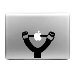MacBook Sticker Tattoo Steinschleuder