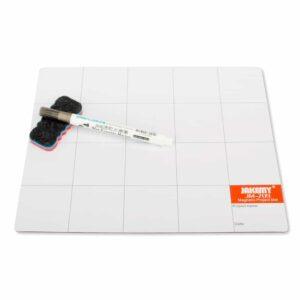 Magnetische Projektmatte mit Stift