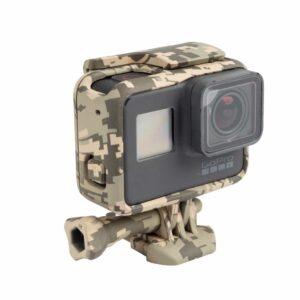 Militär Style GoPro Halterung Braun