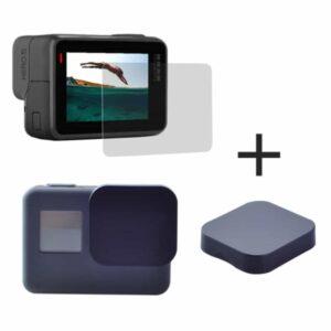 Panzerglas und Linsencover für GoPro Hero 5