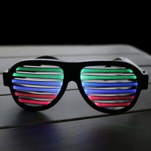 Party LED Sonnenbrille
