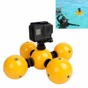 Schwimmende GoPro Halterung