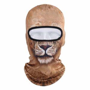 Ski Snowboard Maske mit 3D Druck Löwe