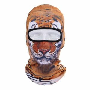 Ski Snowboard Maske mit 3D Druck Tiger