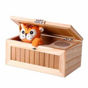 Useless Box Tiger mit Ton
