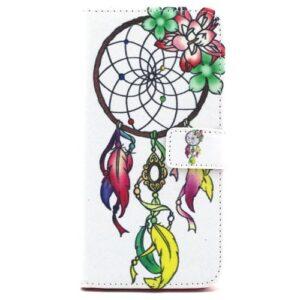 iPhone 6s / 6 Buch Etui Tasche mit Kartenfach Traumfänger