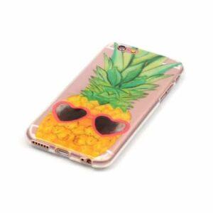 iPhone 6s / 6 Super Slim Gummi Hülle TPU Ananas