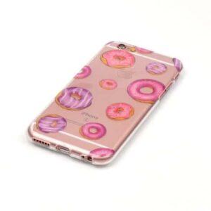 iPhone 6s / 6 Super Slim Gummi Hülle TPU Donuts
