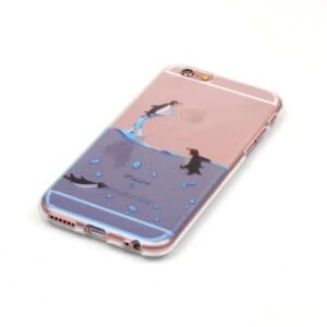 iPhone 6s / 6 Super Slim Gummi Hülle TPU Pinguine