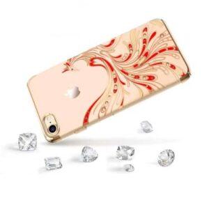iPhone 8 / 7 Premium Swarovski Hardcase Phoenix Gold