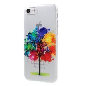 iPhone 8 / 7 Ultra Slim Hardcase Hülle Bunter Baum
