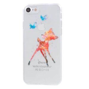 iPhone 8 / 7 Ultra Slim Hardcase Hülle Rehkitz