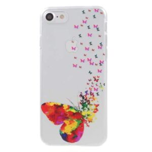 iPhone 8 / 7 Ultra Slim Hardcase Hülle Schmetterlinge