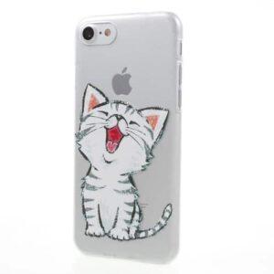 iPhone 8 / 7 Ultra Slim Hardcase Hülle süsse Katze