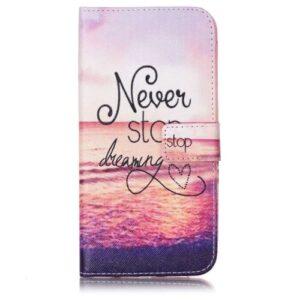 iPhone 8 Plus / 7 Plus Buch Etui Tasche mit Kartenfach Dreaming