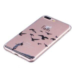 iPhone 8 Plus / 7 Plus Super Slim Gummi Hülle TPU Glauben