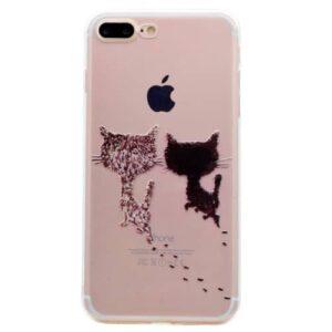 iPhone 8 Plus / 7 Plus Super Slim Gummi Hülle TPU Kittys