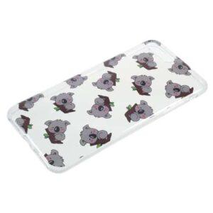 iPhone 8 Plus / 7 Plus Super Slim Gummi Hülle TPU Koala
