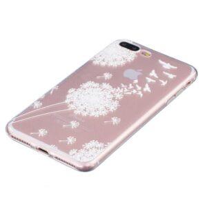 iPhone 8 Plus / 7 Plus Super Slim Gummi Hülle TPU Pusteblume