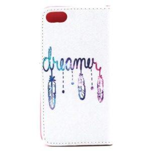 iPhone SE / 5s / 5 Buch Etui Tasche mit Kartenfach Träumen (7)
