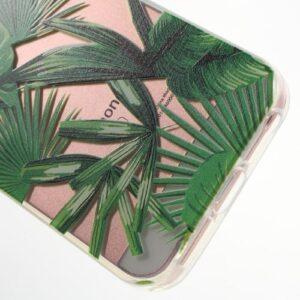 iPhone SE / 5s / 5 Super Slim Gummi Hülle TPU Urwald