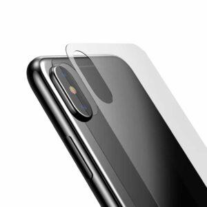 iPhone X Backcover Panzerglas