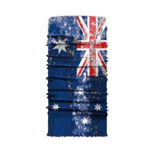 Ski und Snowbard Maske mit coolem Aufdruck mit dem Motiv Australien