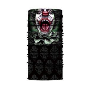 Ski und Snowbard Maske mit coolem Aufdruck mit dem Motiv Clown