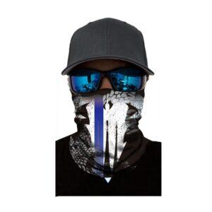 Ski und Snowbard Maske mit coolem Aufdruck mit dem Motiv Tribal