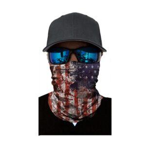 Ski und Snowbard Maske mit coolem Aufdruck mit dem Motiv USA