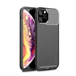 iPhone 11 Pro Max Premium Hülle TPU Carbon Optik