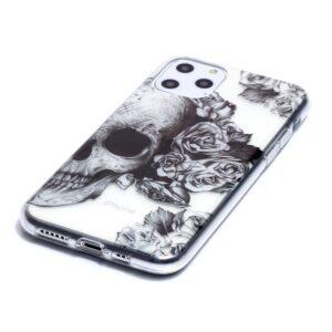 Super Dünne Transparente Schutzhülle für das iPhone 11 Pro mit dem Aufdruck Totenkopf