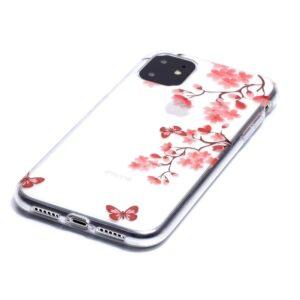 Super Dünne Transparente Gummi Schutzhülle für das iPhone 11 mit dem Aufdruck Blüten Ast