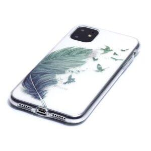 Super Dünne Transparente Gummi Schutzhülle für das iPhone 11 mit dem Aufdruck Bärchen