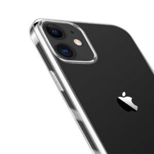 Transparente durchsichtige Gummi Hülle für das iPhone 12 Mini