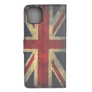 iPhone 12 / iPhone 12 Pro Buch Etui Schutzhülle mit Aufdruck England Fahne