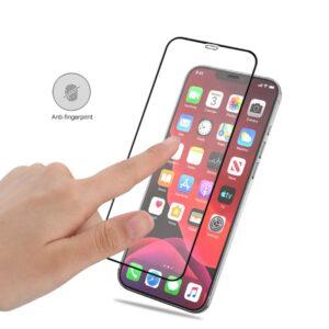 iPhone 12 / iPhone 12 Pro Panzerglas Displayschutz Folie Vollbild