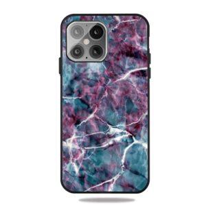 iPhone 12 / iPhone 12 Pro Gummi Schutzhülle Case Marmor
