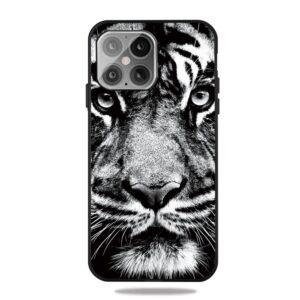 iPhone 12 / iPhone 12 Pro Gummi Schutzhülle Case Tiger